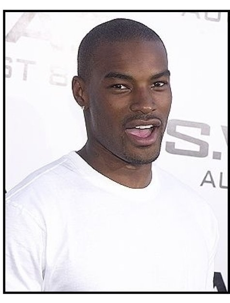 "Tyson Beckford at the ""S.W.A.T."" premiere"