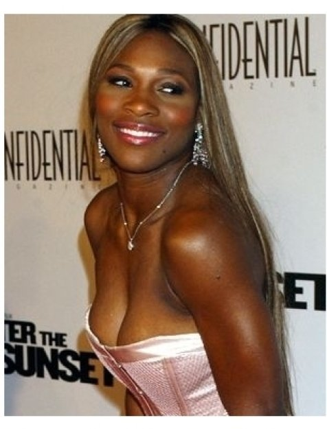 Serena Williams at the After the Sunset Premiere