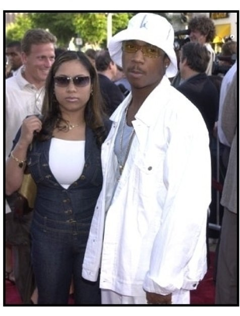 Ja Rule and wife at The Fast and the Furious premiere