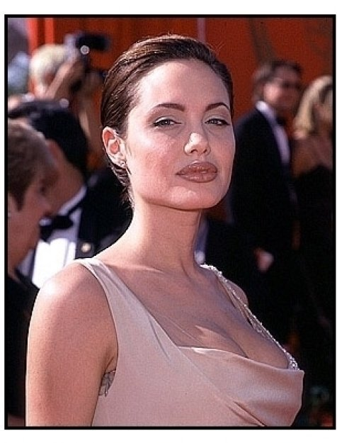Angelina Jolie at the 1998 Emmy Awards