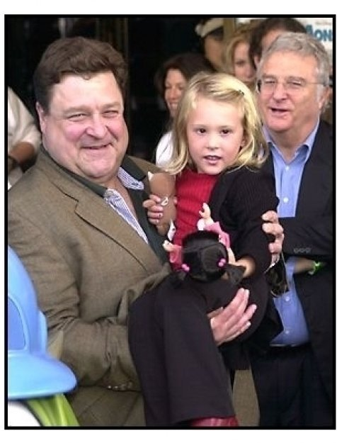 John Goodman, Mary Gibbs and Randy Newman at the Monsters Inc premiere