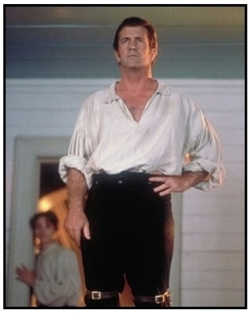 The Patriot movie still: Mel Gibson