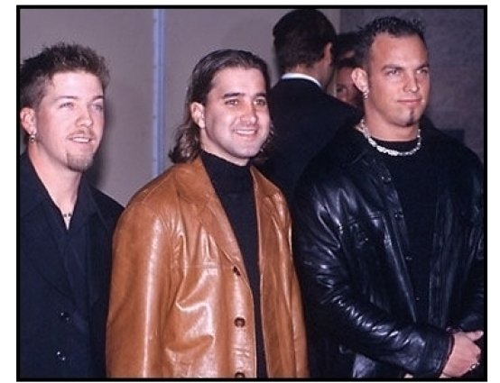 Creed at the 2000 Billboard Music Awards