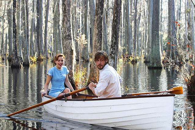 The Notebook rowboat