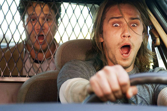 James Franco - Pineapple Express cop car