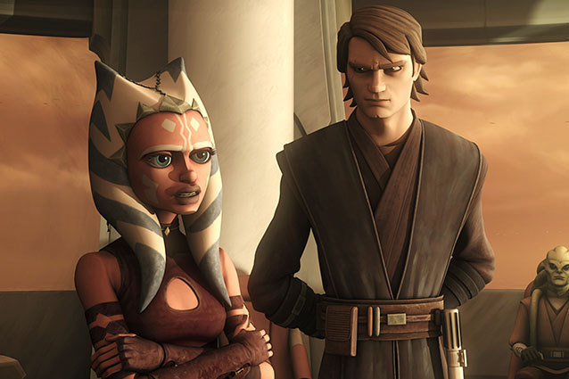 Star Wars: The Clone Wars finds Anakin and Ahsoka investigating a bombing at the Jedi Temple