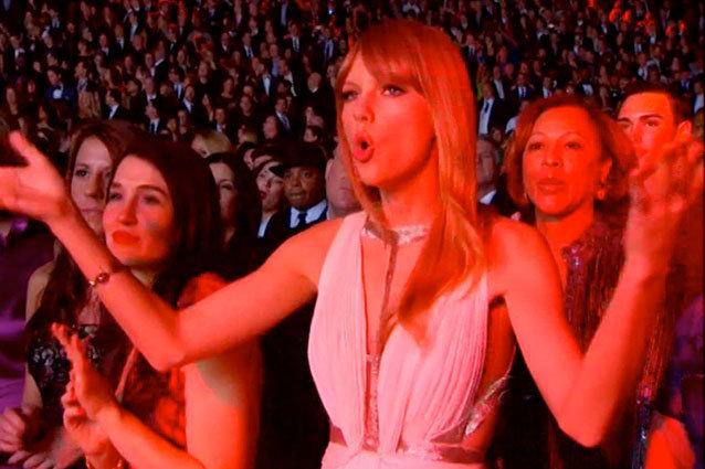 Taylor Swift - Grammys 2013 Sing-Along