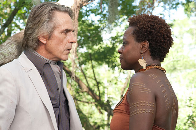 Jeremy Irons and Viola Davis in Beautiful Creatures