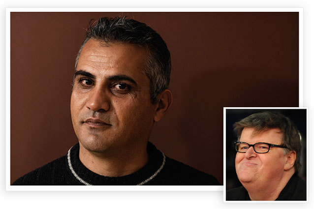 Emad Burnat Academy Awards Detained Michael Moore