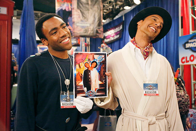 Troy and Abed breakup at Inspector Spacetime convention