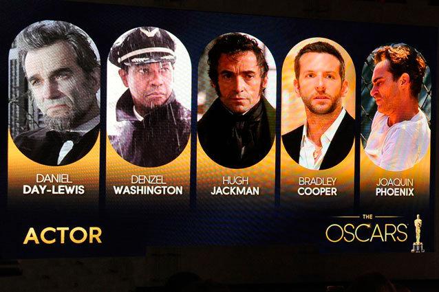 Predicting Best Actor Oscars 2013