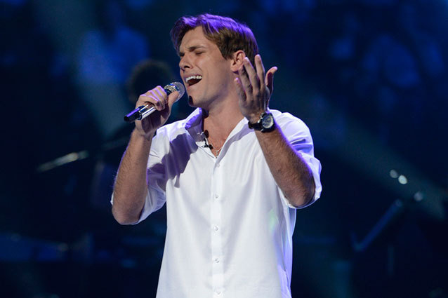 American Idol Guys Sudden Death Eliminations Las Vegas Johnny Keyser