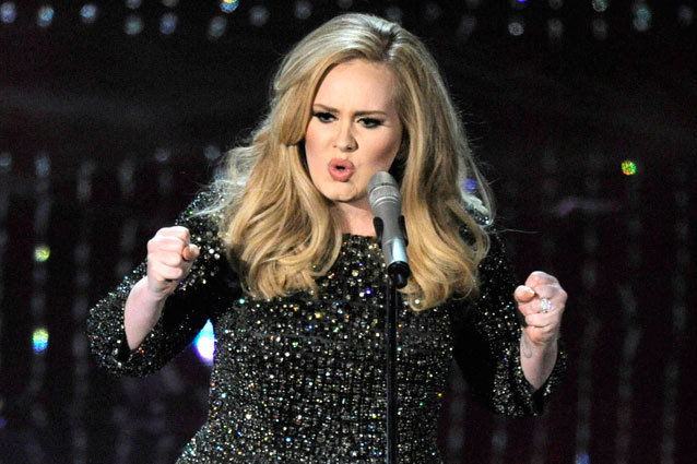 Adele at the Oscars