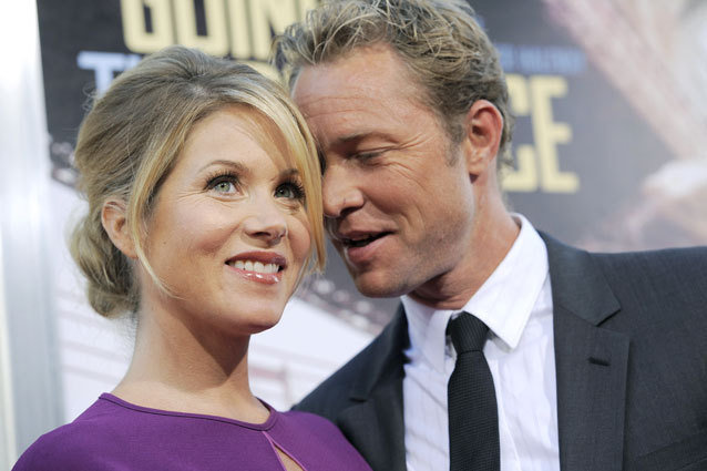 Christina Applegate married