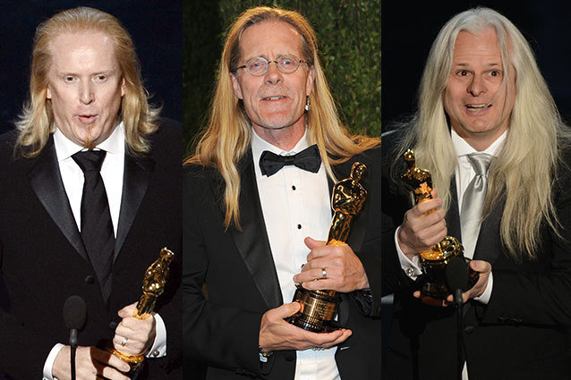Long-haired Oscar winners