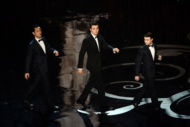 Daniel Radcliffe Oscars Opening Number