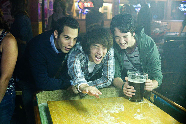 21 and Over Miles Teller and Justin Chon