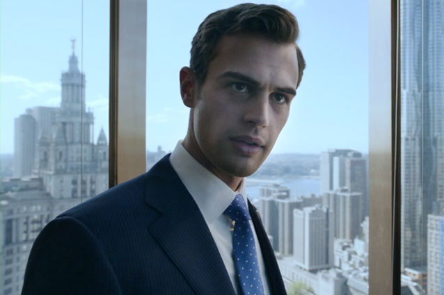 Theo James Golden Boy Star is Sexy