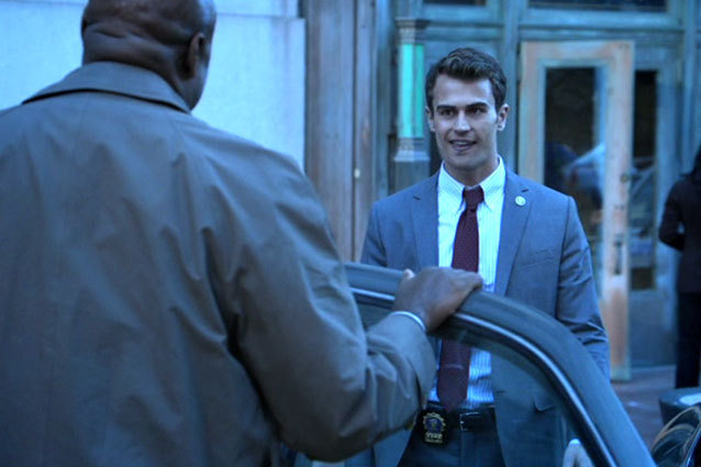 Theo James Smile Golden Boy