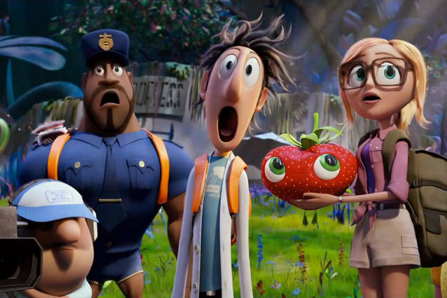 Cloudy With a Chance of Meatballs 2 trailer is now out