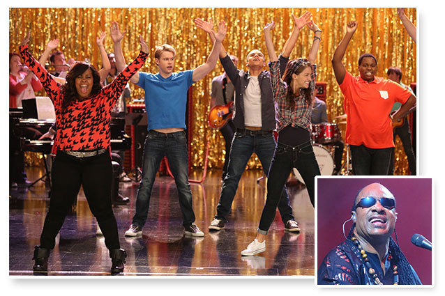 Glee Stevie Wonder Tribute