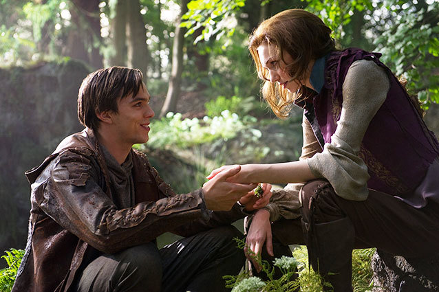 Jack the Giant Slayer Nicholas Hoult Eleanor Tomlinson
