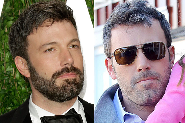 Ben Affleck Shaves His Beard