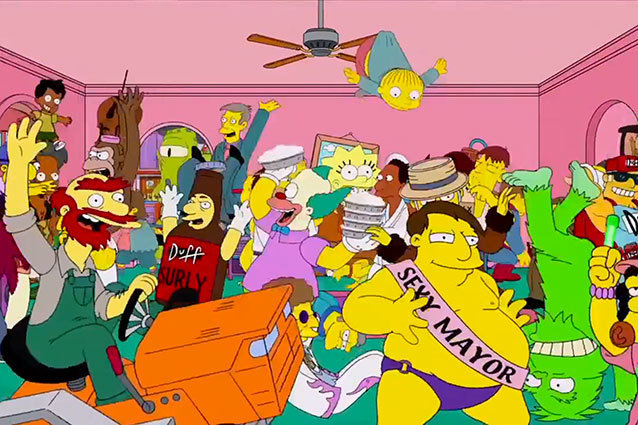 Harlem Shake - The Simpsons