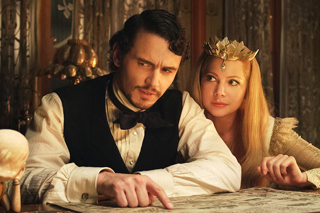 James Franco Oz the Great and Powerful Review