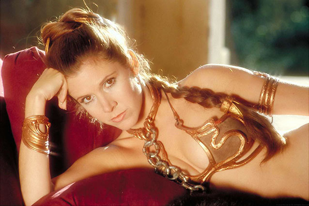 Carrie Fisher Seemingly Confirms She, and the Metal Bikini, Will be back for Star Wars Episode 7