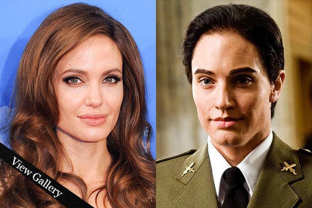 Angelina Jolie as Salt in Disguise