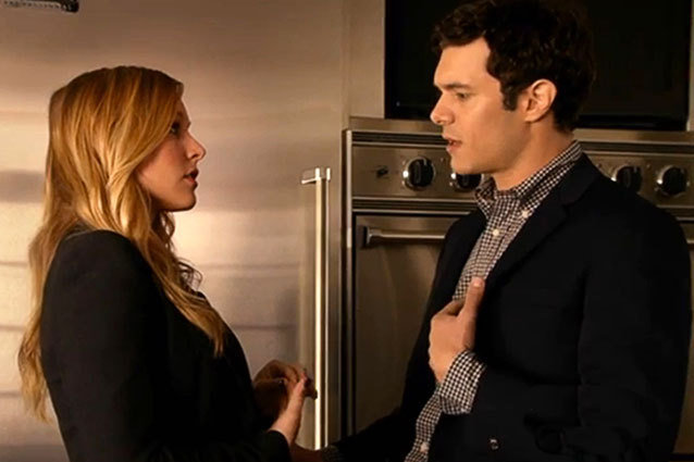 Adam Brody plays a sex toy purveyor on Showtime's House of Lies with Kristen Bell