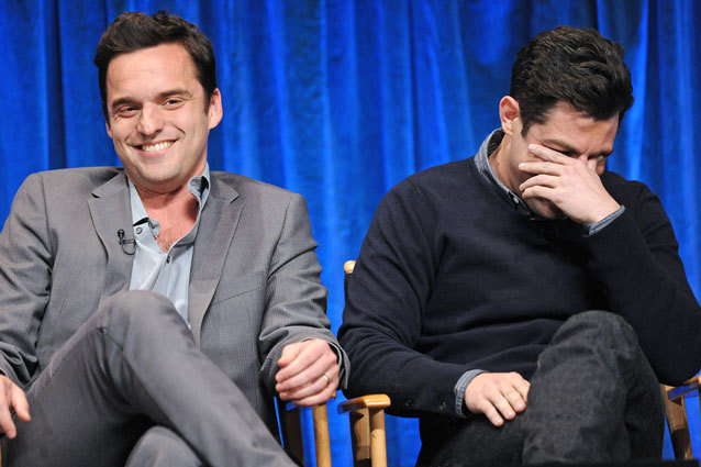New Girl Jake Johnson Max Greenfield PaleyFest
