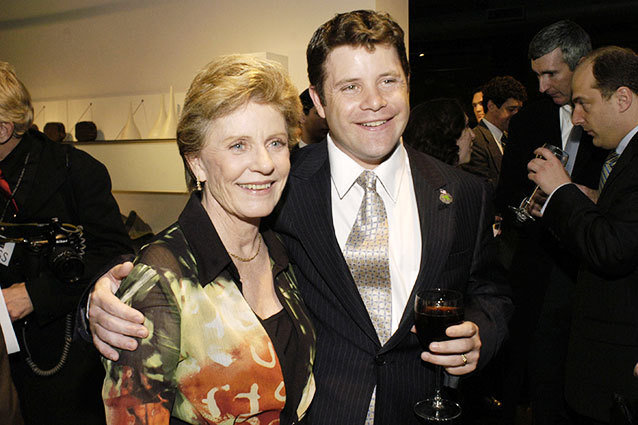 Sean Astin and Patty Duke