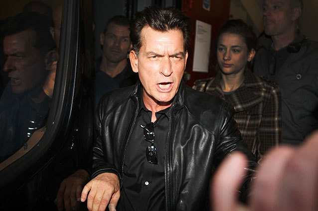 Charlie Sheen Asks Fans to Vandalize Daughters School