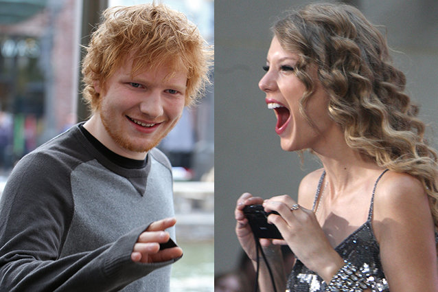 Taylor Swift, Ed Sheeran dating rumors