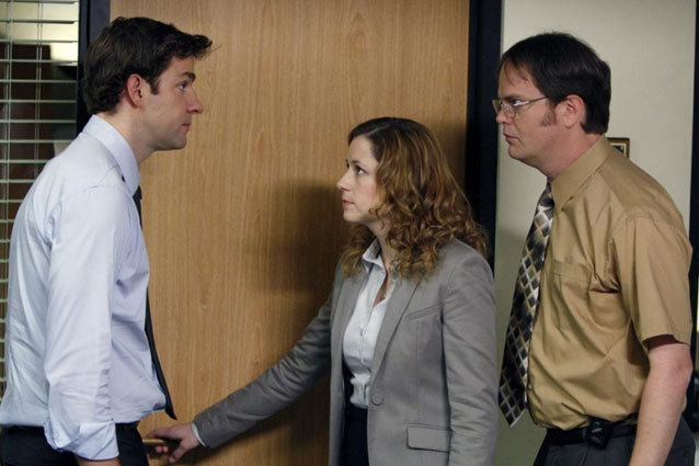 The Office - Jim, Pam, and Dwight