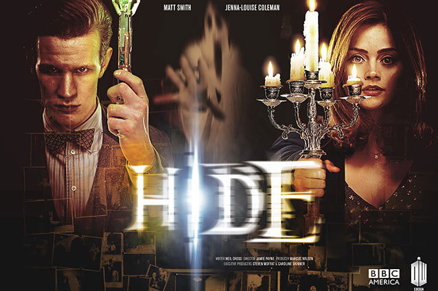 "Doctor Who ""Hide"" Poster"