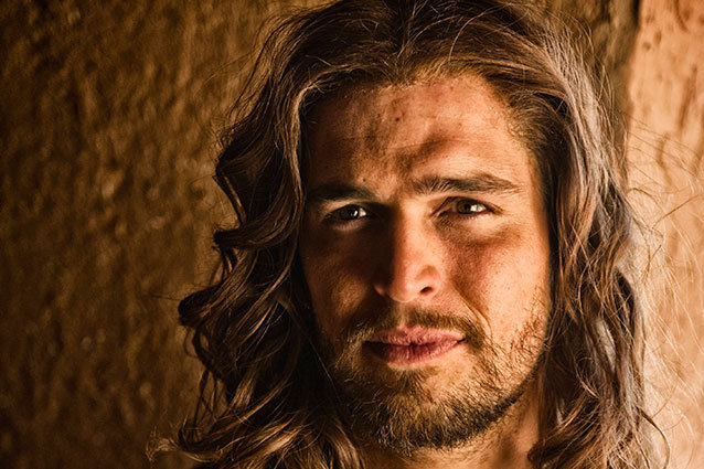 Jesus Played by Diogo Morgado in The Bible