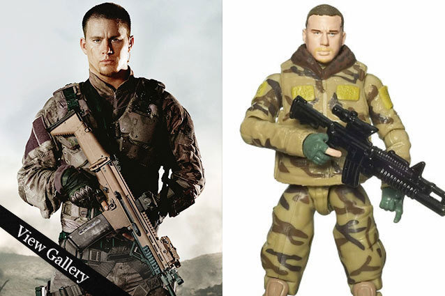 Channing Tatum, G.I. Joe Action Figure