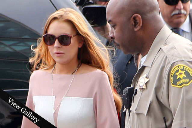 Lindsay Lohan Court Fashion