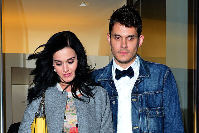 Katy Perry and John Mayer broke up again.