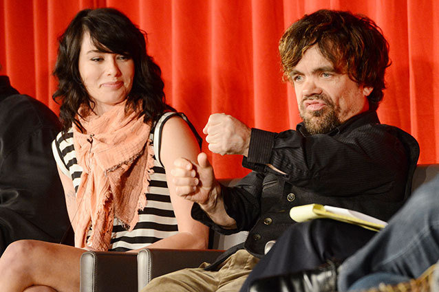 Peter Dinklage and Lena Headey in 'Game of Thrones'