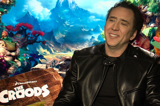 Nicholas Cage The Croods Interview