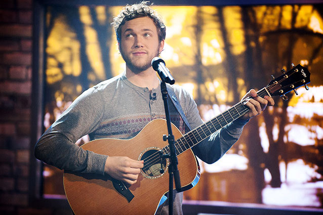 Phillip Phillips performs Gone Gone Gone on American Idol