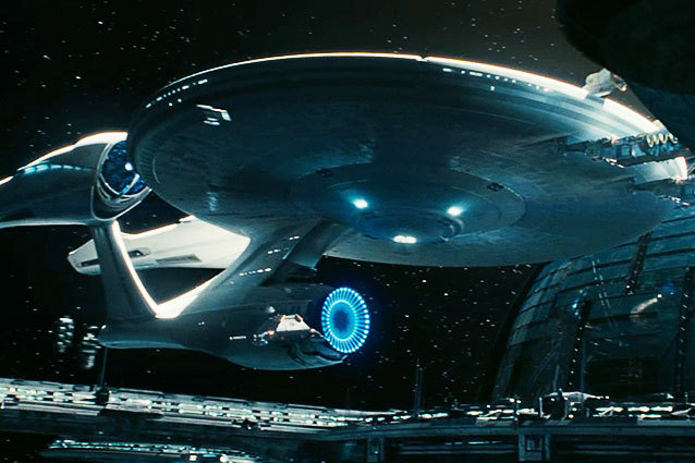 The Enterprise in Star Trek Into Darkness