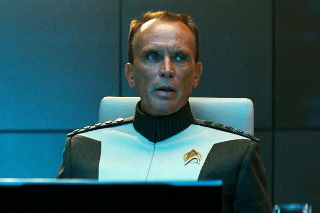 Peter Weller in Star Trek Into Darkness