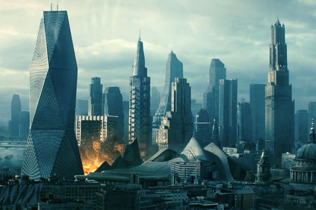 London Gets Bombed in Star Trek Into Darkness