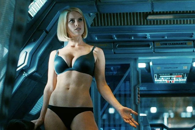 Alice Eve in Star Trek Into Darkness