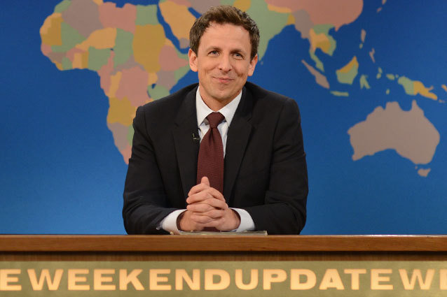 Seth Meyers Could Replace the Tonight Show Bound Jimmy Fallon